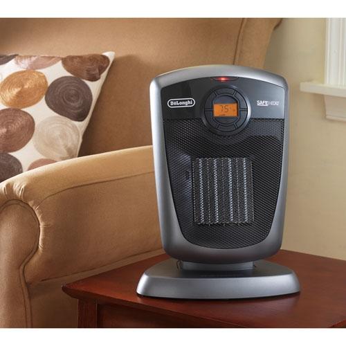 Delonghi DCH4590ER  1500 watt Ceramic Heater with RC